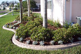 landscape edging today eurostyle stamped and colored concrete curbing