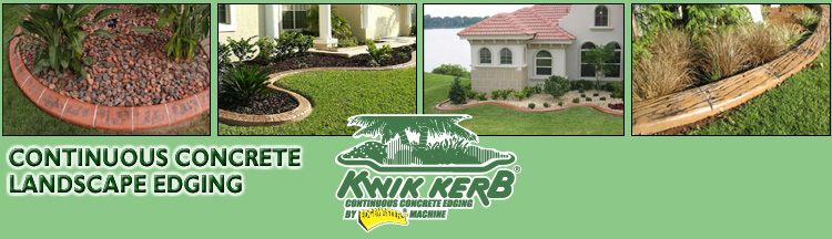 Kwik Kerb landscape curbing is an economical and green solution to increasing your home's curb appeal!